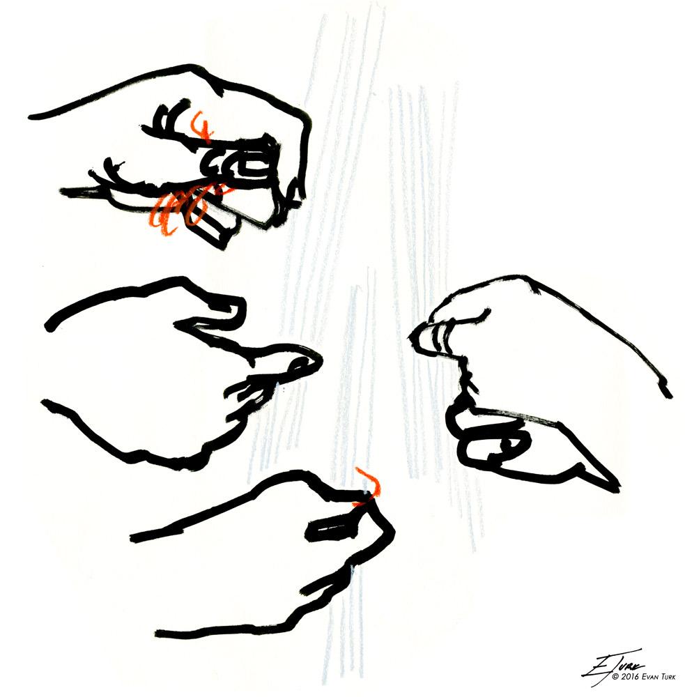 Sketch © Evan Turk